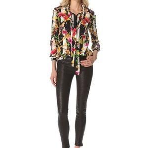 98e193e5f9868 Juicy Couture Tops - 100% silk chain print blouse
